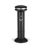 Infinity Black Ultra-High Capacity Outdoor Smoking Receptacle