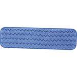 HYGEN Blue Microfiber Damp Room Mops 18X5