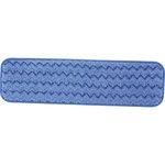 HYGEN Blue Microfiber Damp Room Mops 24X5