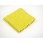 Yellow Standard Microfiber Cloth 16X16
