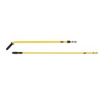 Yellow 58 in. Quick-Connect Aluminum Handles