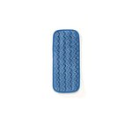 Blue Wall/Stair Wet Microfiber Mopping Pad 13.7X5.5
