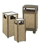 Brown XL 24 Gal Sand Urn Litter Receptacle