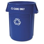 "Individual Recycle Label ""Can Only"" in White Letters"