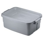 Roughneck Steel Gray 10 Gal Storage Box