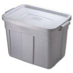 Roughneck Steel Gray 18 Gal Storage Box