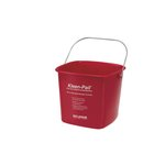 Kleen-Pail Red 6 qt. Sanitizing Pails