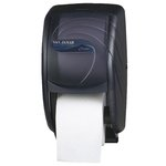 Oceans Black Double Roll Toilet Tissue Dispenser