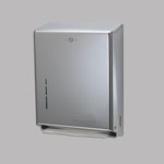 Chrome Combination Cabinet for C-Fold/Multifold