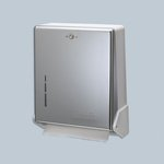 True Fold White Metal Front Cabinet for C-Fold/Multifold