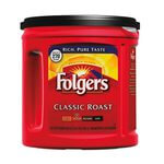 Folger's 100% Classic Roast Mountain Grown Ground Coffee 2 lb