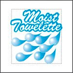 Individually Wrapped Moist Towelette 4X7