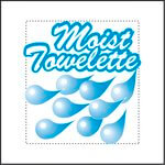Individually Wrapped Lemon Scent Moist Towelette 4X7