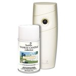 Yankee Candle Starter Kit w/ Clean Cotton Scent Refill