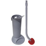 Ergo Toilet Bowl Brush System w/ Holder