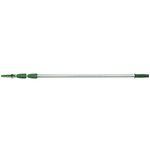 Opti-Loc Silver/Green Aluminum 3 Section Extension Pole 12 ft