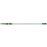 Opti-Loc Silver/Green Aluminum 3 Section Extension Pole 30 ft