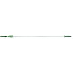 Opti-Loc Silver/Green Aluminum 2 Section Extension Pole 8 ft