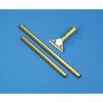 Golden Clip Brass Channel w/ 12 in. Wider RubberSqueegee & Clip