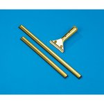 Golden Clip Brass Squeegee Handle