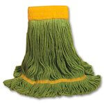 Green EcoMop Loop End Medium Mop Head 18X5