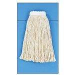 White Cotton Fiber Cut-End #16 Size Wet Mop Head