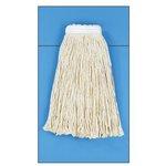 White Cotton Fiber Cut-End #24 Size Wet Mop Head