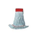 Blue Premium Blended Yarn Standard Mop Head, L