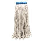 White Cut-End Lie-Flat Cotton Fiber 16 oz. Wet Mop Head