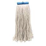 White Cut-End Lie-Flat Rayon Fiber 24 oz. Wet Mop Head