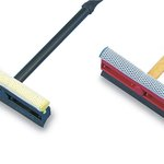 General-Duty 8 in. Squeegee w/ 16 in. Plastic Handle