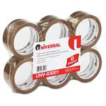 Clear Universal 3 mil Box Sealing Tape, 55 yd.