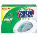 2000 Flushes Bleach Automatic Bowl Cleaner 1-1/4 oz. Tablet