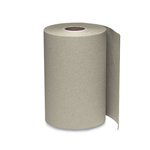 Brown 1-Ply Nonperforated Roll Towels 12 ct