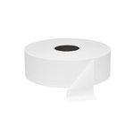White 1-Ply Super Jumbo Roll Toilet Tissue