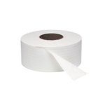 White 2-Ply Jumbo Roll Toilet Tissue