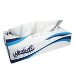 100 Count Facial Tissue, 2-Ply