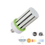 100W LED Corn Bulb, 400W MH Replacement, 15000 Lumens, 5700K