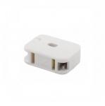 10 Amp In-Line Outlet, NEMA 1-15R, White