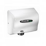 500W eXtremeAir EXT High-Speed Hand Dryer, 100-240V, White Epoxy Finish