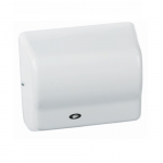 1500W Global GX Series Hand Dryer, Wall Mounted, 110-120V, White Epoxy