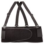 Black Medium Back Supporting Bodybelt