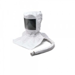 Disposable Hood Assembly for Air Respirator Hood, Flow Adapter & Suspension