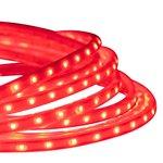 Red 13.2 Foot 120V  8.8W Per Foot LED Tape-Rope Light Kit