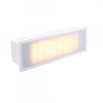 3W Brick Light LED Step Lights, White, 3000K
