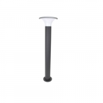 10W FrameWRX Bloom Bollard Light, Graphite, 3000K