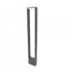 10W FrameWRX Stage Bollard Light, Graphite, 3000K