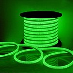 Green, 2.8W, 24V,  LED Cuttable Polar-2 Neon Strip, 150 Ft Reel