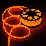 Orange, 2.8W, 24V,  LED Cuttable Polar-2 Neon Strip, 150 Ft Reel