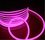 Pink, 2.8W, 24V,  LED Cuttable Polar-2 Neon Strip, 150 Ft Reel